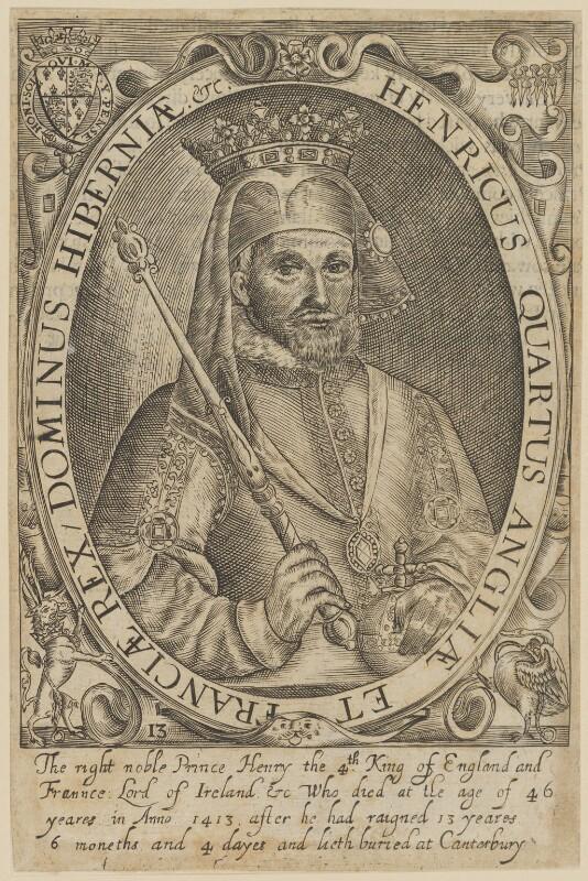 King Henry IV, probably by Renold or Reginold Elstrack (Elstracke), published 1638 - NPG D33905 - © National Portrait Gallery, London