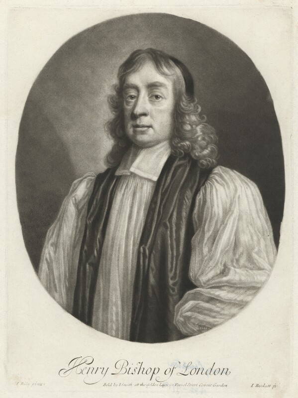 Henry Compton, by Isaac Beckett, published by  John Smith, after  John Riley, (circa 1680-1685) - NPG D34055 - © National Portrait Gallery, London