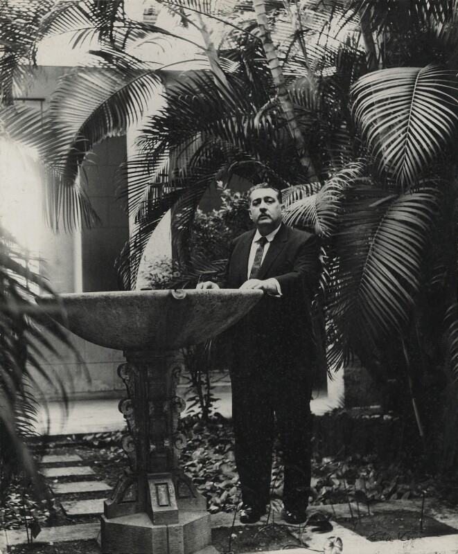 José Lezama Lima, by Ida Kar, 1964 - NPG x132304 - © National Portrait Gallery, London