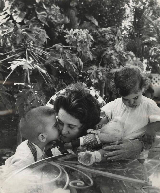 Abel Hart Santamaría; Haydée Santamaría Cuadrado; Celia Hart Santamaría, by Ida Kar, 1964 - NPG x132316 - © National Portrait Gallery, London