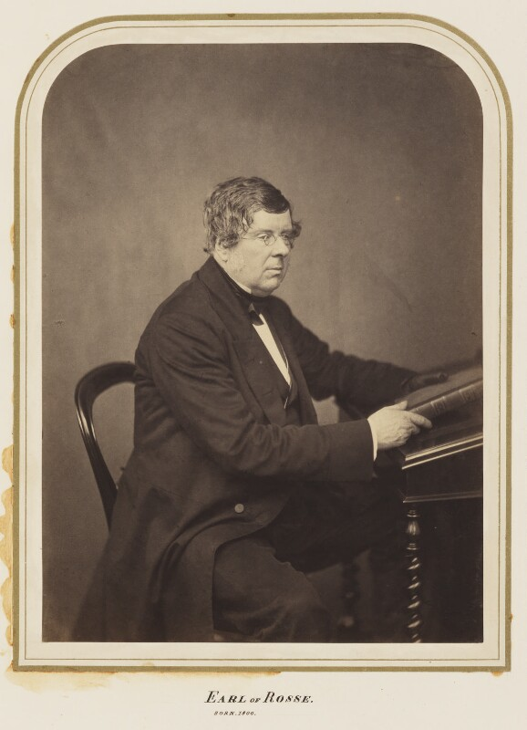 William Parsons, 3rd Earl of Rosse, by Maull & Polyblank, published December 1857 - NPG Ax7274 - © National Portrait Gallery, London