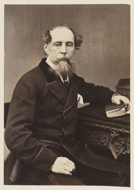 Charles Dickens, by Mason & Co (Robert Hindry Mason), or by  G.L. Lea, 1863 - NPG Ax7293 - © National Portrait Gallery, London