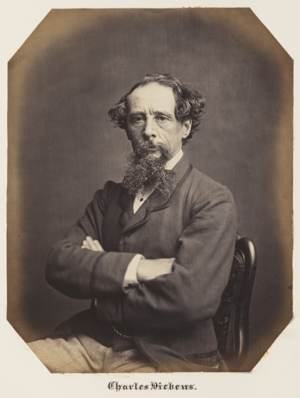 Charles Dickens, by John & Charles Watkins, 1859 or 1861 - NPG Ax7294 - © National Portrait Gallery, London