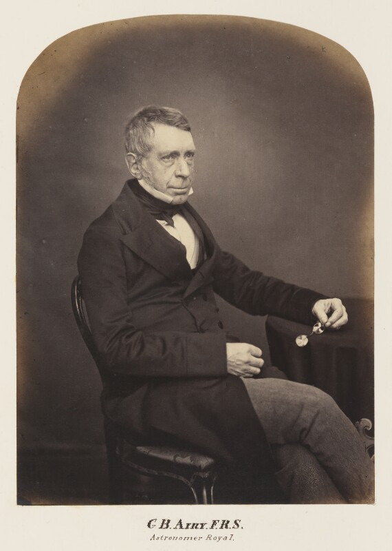 Sir George Biddell Airy, probably by Maull & Polyblank, mid-late 1850s - NPG Ax7296 - © National Portrait Gallery, London