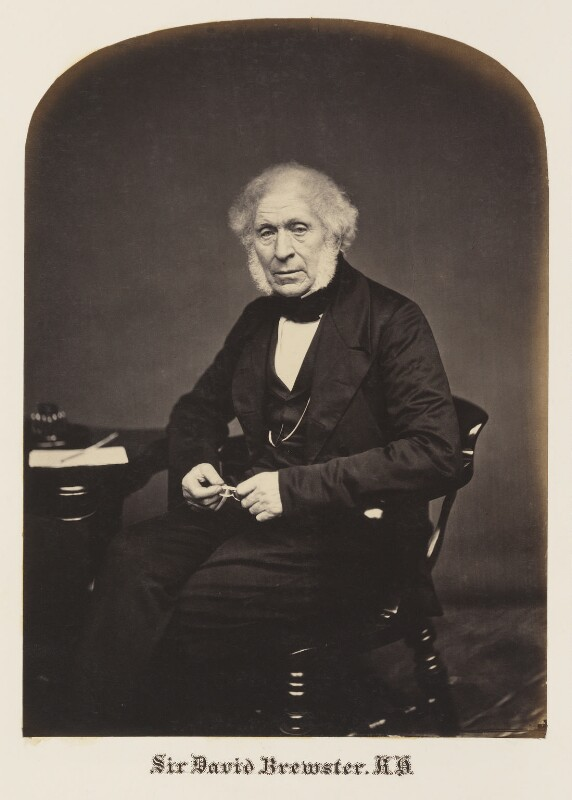 Sir David Brewster, by Maull & Polyblank, mid-late 1850s - NPG Ax7301 - © National Portrait Gallery, London