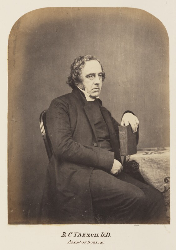 Richard Chenevix Trench, probably by Maull & Polyblank, mid-late 1850s - NPG Ax7319 - © National Portrait Gallery, London