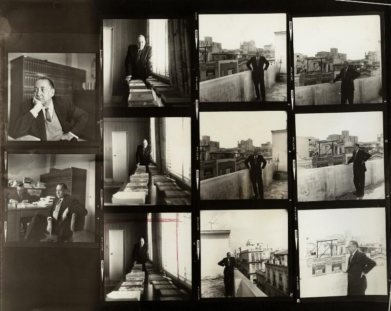 Alejo Carpentier Valmont, by Ida Kar, 1964 - NPG x132329 - © National Portrait Gallery, London