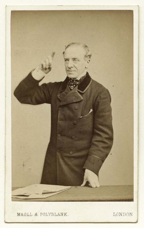 Henry Hawkins, Baron Brampton, by Maull & Polyblank, circa 1865 - NPG x132345 - © National Portrait Gallery, London