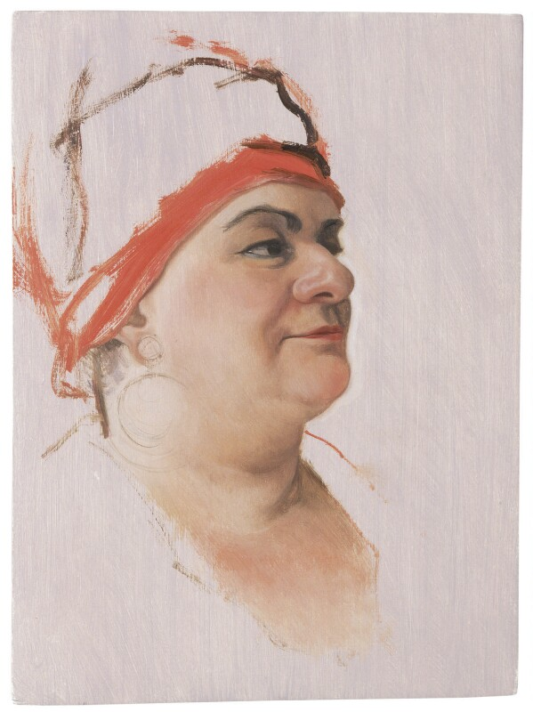 Camila Batmanghelidjh, by Dean Marsh, 2008 - NPG 6860 - © Dean Marsh / National Portrait Gallery, London