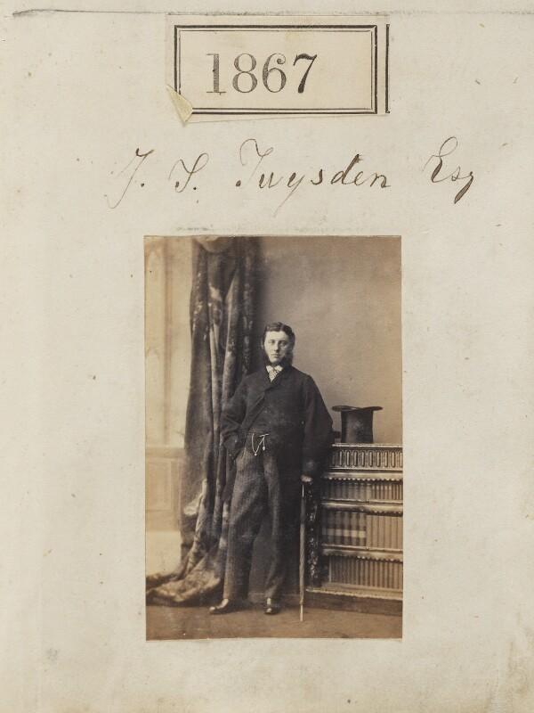 James Stevenson Twysden, by Camille Silvy, 2 January 1861 - NPG Ax51257 - © National Portrait Gallery, London
