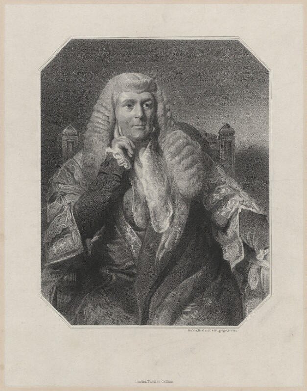 Charles Pepys, 1st Earl of Cottenham, by Maclure, Macdonald & Macgregor, after  Henry Perronet Briggs, (1837) - NPG D34154 - © National Portrait Gallery, London