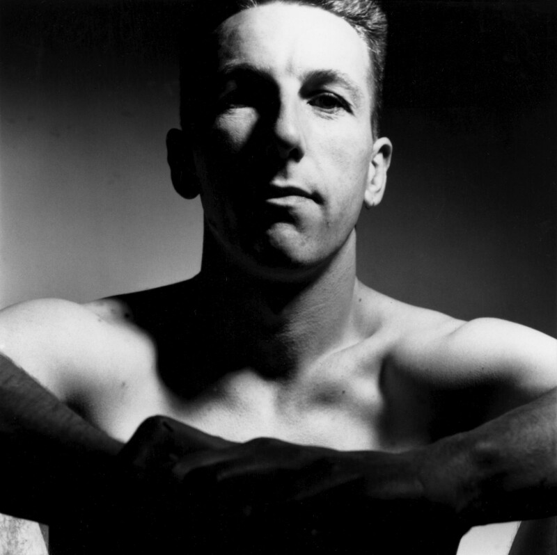 Steve Martland, by Andrew Catlin, June 1989 - NPG x35991 - © Andrew Catlin / National Portrait Gallery, London