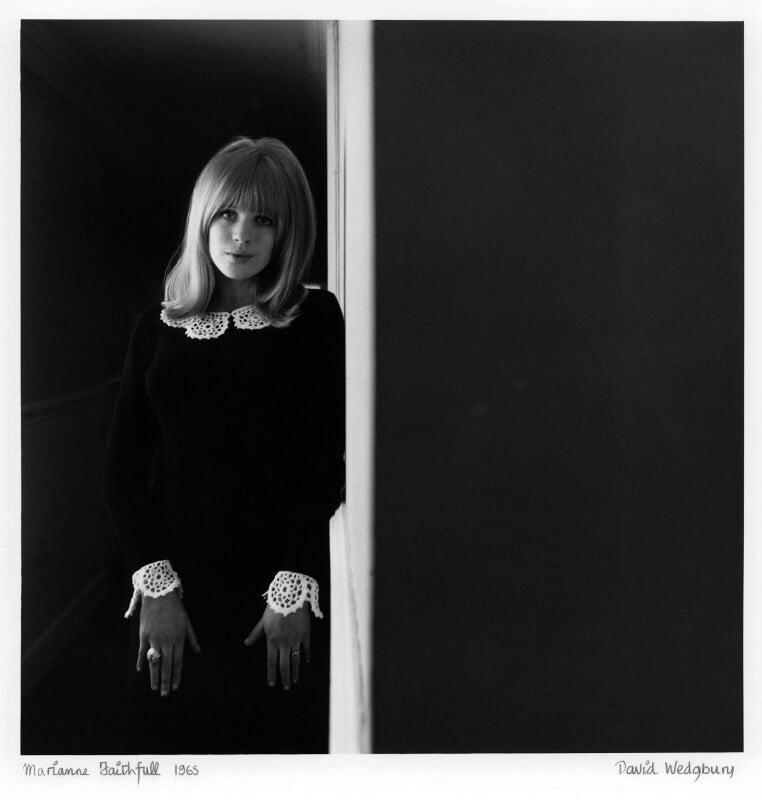 Marianne Faithfull, by David Wedgbury, 1965 - NPG x47346 - © National Portrait Gallery, London
