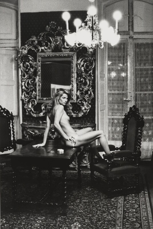 Charlotte Rampling, by Helmut Newton, 19 October 1973 - NPG x32395 - © HELMUT NEWTON / Maconochie Photography
