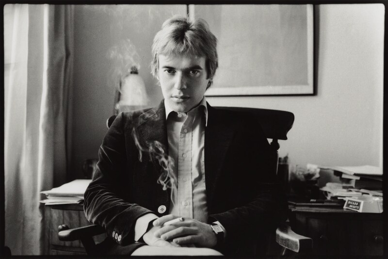 Martin Amis, by Angela Gorgas, 1977 - NPG x133015 - © Angela Gorgas