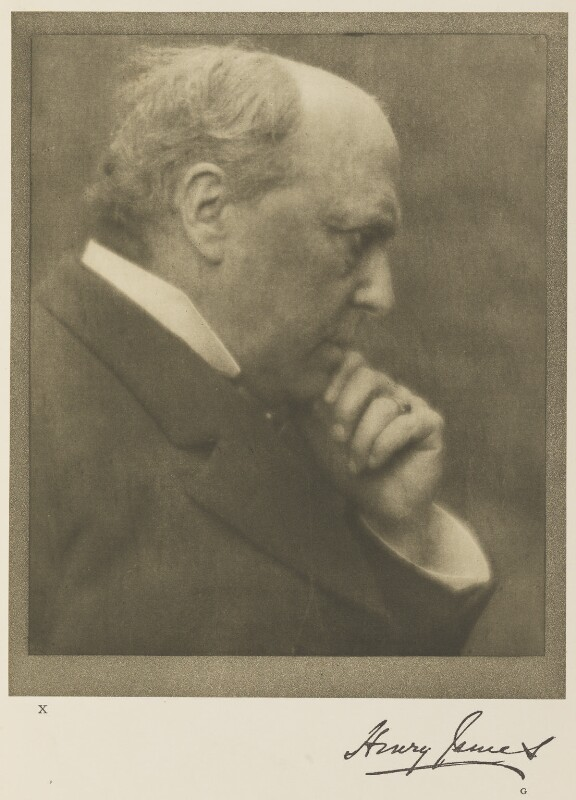 Henry James, by Alvin Langdon Coburn, 12 June 1906 - NPG Ax7777 - © The Universal Order
