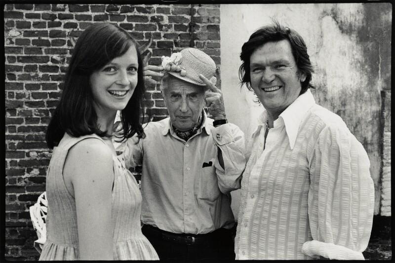 Katherine Martha Mlinaric (née Laycock); Sir Frederick Ashton; David Ball, by Angela Gorgas, 1977 - NPG x133023 - © Angela Gorgas