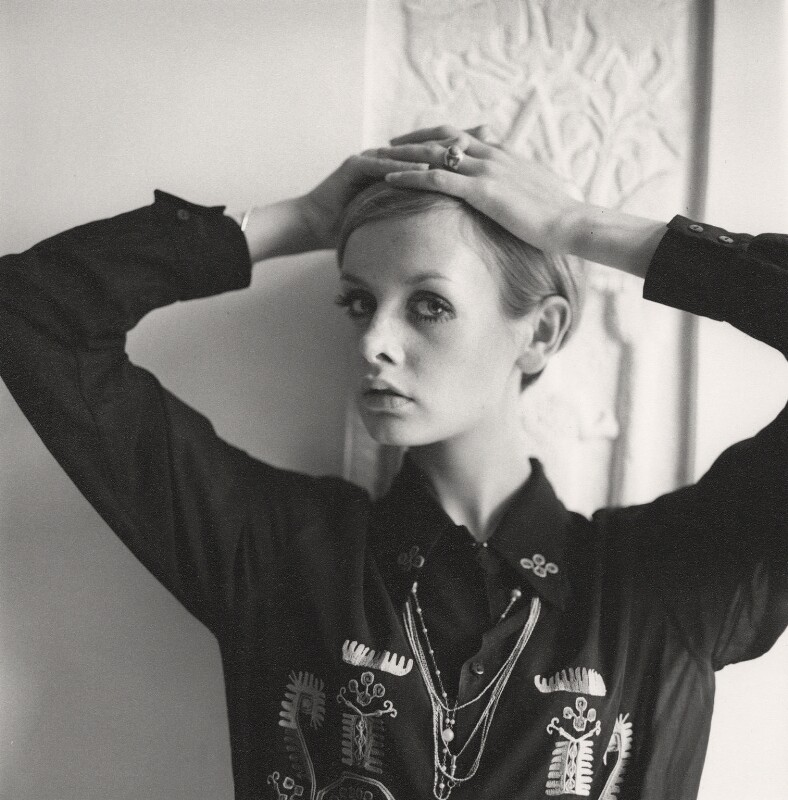 Twiggy, by Cecil Beaton, 1968 - NPG x14224 - © Cecil Beaton Studio Archive, Sotheby's London