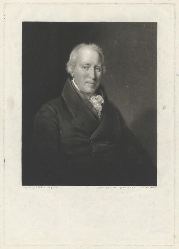 Henry Cowper, by William James Ward, after  John Jackson, circa 1800-1825 - NPG D34196 - © National Portrait Gallery, London