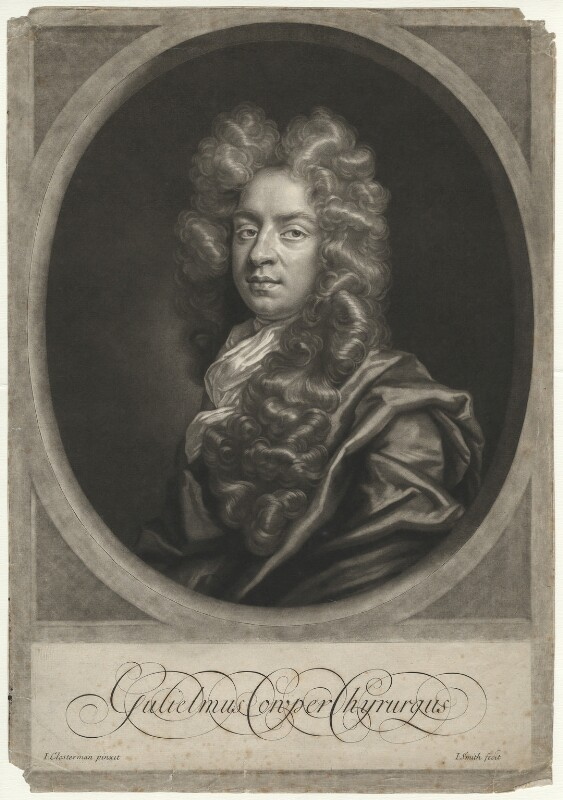 William Cowper (Cooper), by John Smith, after  John Closterman, 1698 - NPG D34197 - © National Portrait Gallery, London