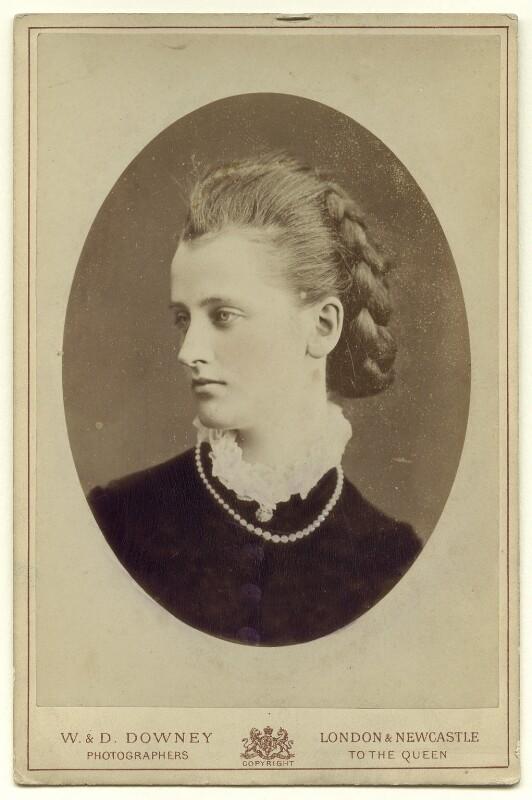 Elizabeth Harriet (née Grosvenor), Marchioness of Ormonde, by W. & D. Downey, circa 1882 - NPG x132394 - © National Portrait Gallery, London