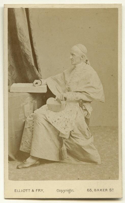Henry Edward Manning, by Elliott & Fry, 1860s - NPG x132397 - © National Portrait Gallery, London