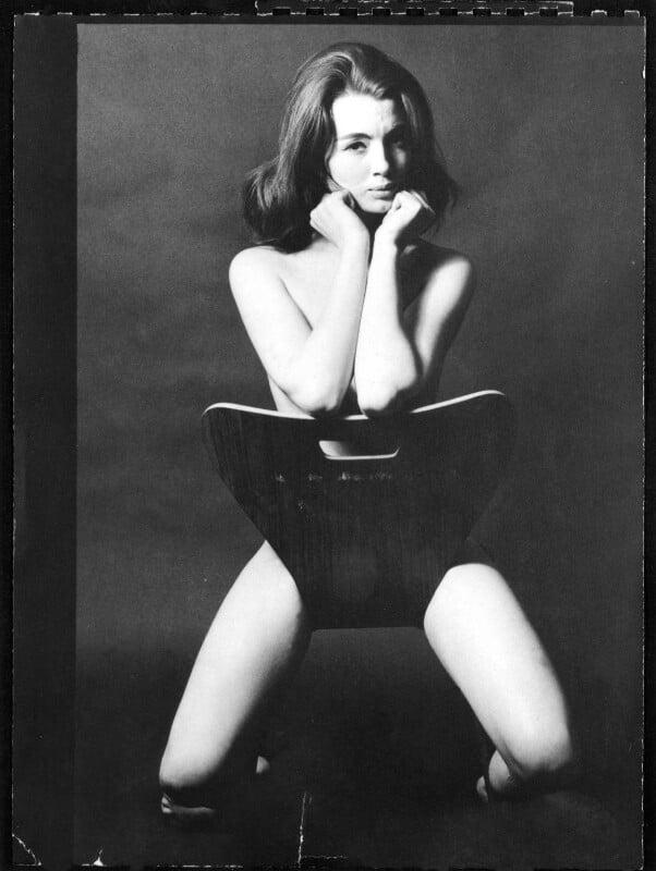 Christine Keeler, by Lewis Morley, June 1963 - NPG x88354 - © Lewis Morley Archive / National Portrait Gallery, London