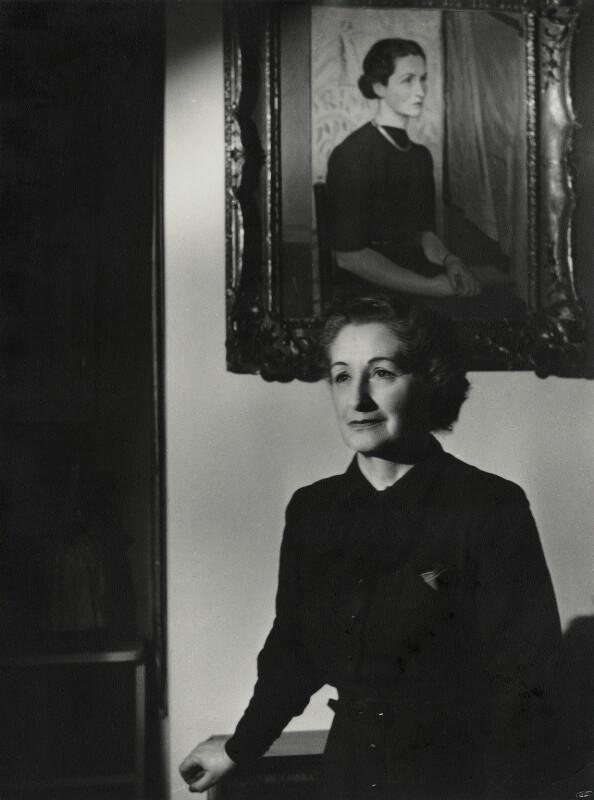 Vera Brittain, by Mark Gerson, January 1954 - NPG x46697 - © Mark Gerson / National Portrait Gallery, London