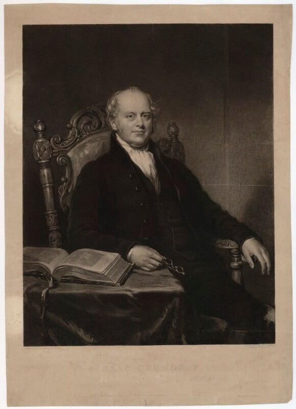 Isaac Crewdson, by Frederick Christian Lewis Sr, after  Benjamin Rawlinson Faulkner, published 1843 - NPG D34232 - © National Portrait Gallery, London