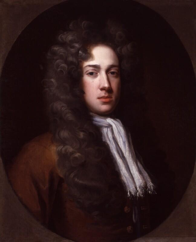 Bainbrigg Buckeridge, by Michael Dahl, 1696 - NPG 6521 - © National Portrait Gallery, London