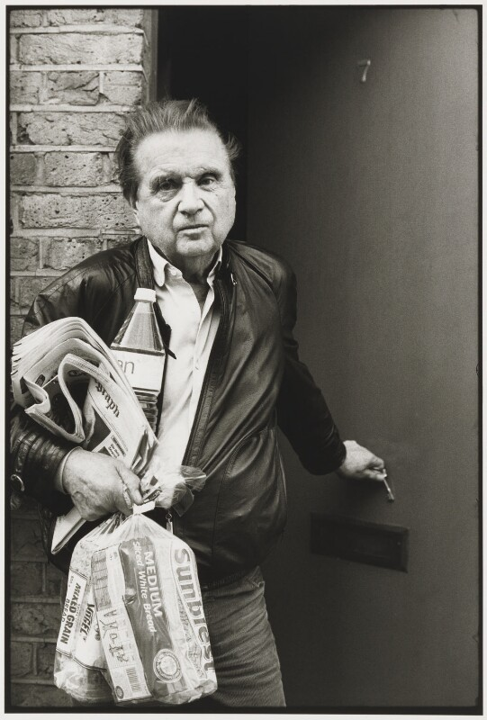 Francis Bacon, by Neil Libbert, 1989 - NPG P760 - © Neil Libbert