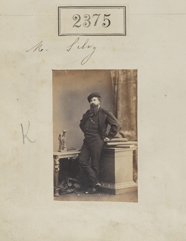 Camille Silvy, by Camille Silvy, 6 March 1861 - NPG Ax51763 - © National Portrait Gallery, London