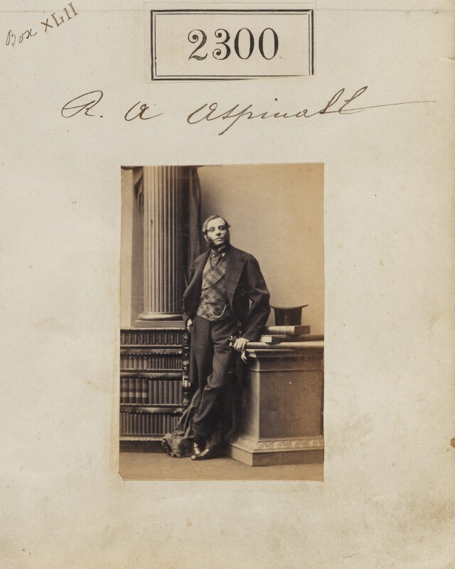 Robert Augustus Aspinall, by Camille Silvy, 1 March 1861 - NPG Ax51688 - © National Portrait Gallery, London