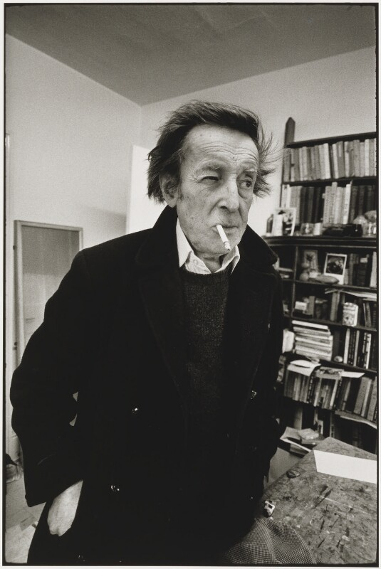 Edward Burra, by Neil Libbert, 1970 - NPG P763 - © Neil Libbert