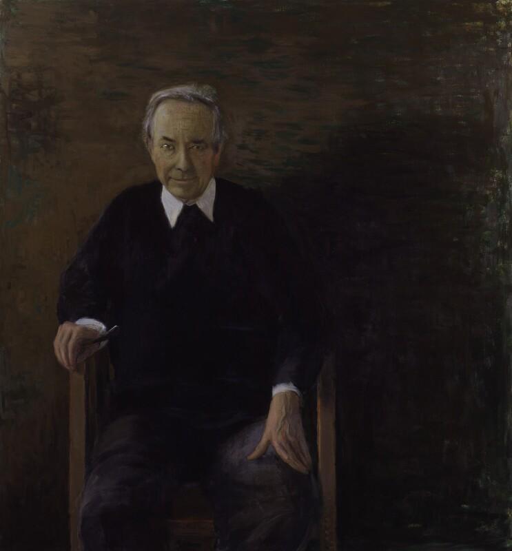 (Francis) George Steiner, by Christopher Mark Le Brun, 1999-2000 - NPG 6524 - © National Portrait Gallery, London