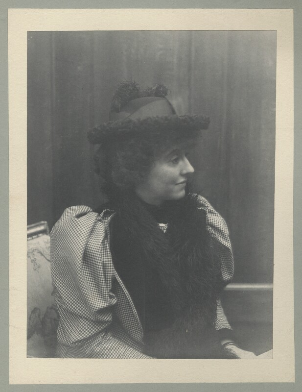 Eveleen Myers (née Tennant), probably by Cyril Flower, 1st Baron Battersea, 1890s - NPG Ax68782 - © National Portrait Gallery, London