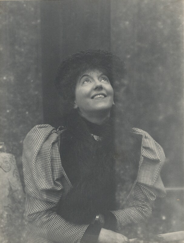 Eveleen Myers (née Tennant), possibly by Cyril Flower, 1st Baron Battersea, 1890s - NPG Ax68785 - © National Portrait Gallery, London