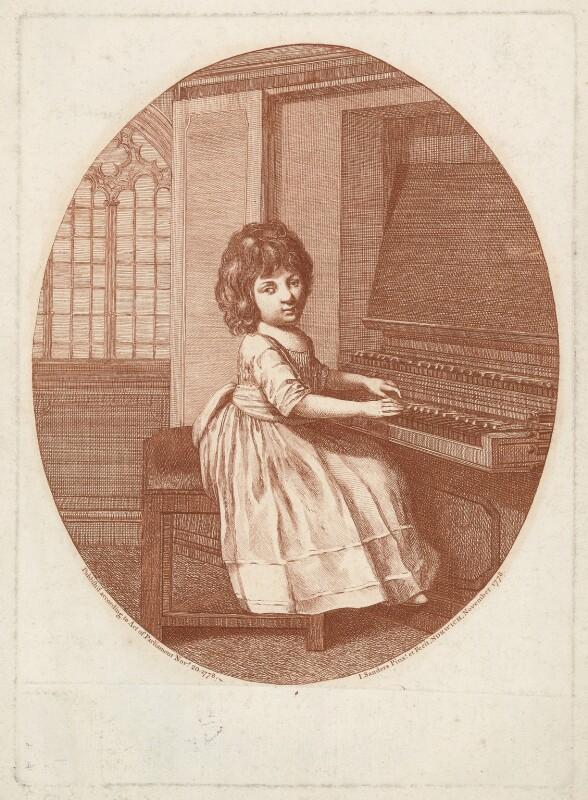 William Crotch, by J. Sanders, published 20 November 1778 - NPG D34410 - © National Portrait Gallery, London