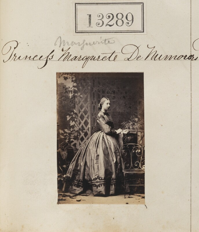 Princess Marguerite Adelaide d'Orleans, by Camille Silvy, 19 May 1863 - NPG Ax62922 - © National Portrait Gallery, London