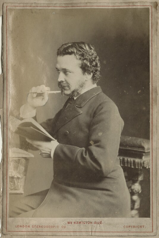 (Charles) Hamilton Aidé, by London Stereoscopic & Photographic Company, 1870s - NPG Ax68310 - © National Portrait Gallery, London