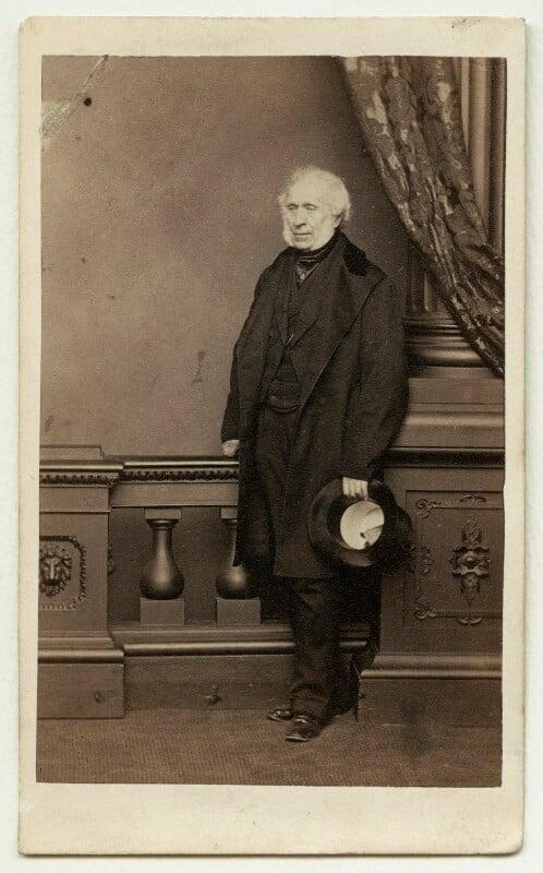 Sir David Brewster, by John Jabez Edwin Mayall, circa 1861 - NPG x4292 - © National Portrait Gallery, London