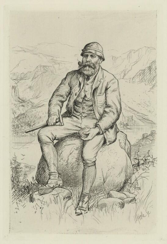 James Murdoch Geikie, by William Brassey Hole, published 1884 - NPG D34446 - © National Portrait Gallery, London