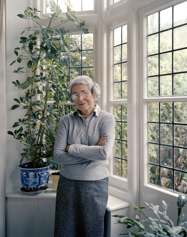 Judith Kerr, by Tom Miller, 12 January 2004 - NPG x132444 - © Tom Miller