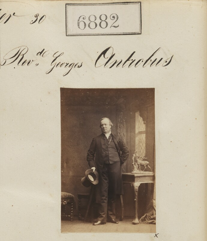 George Antrobus, by Camille Silvy, 30 January 1862 - NPG Ax56802 - © National Portrait Gallery, London