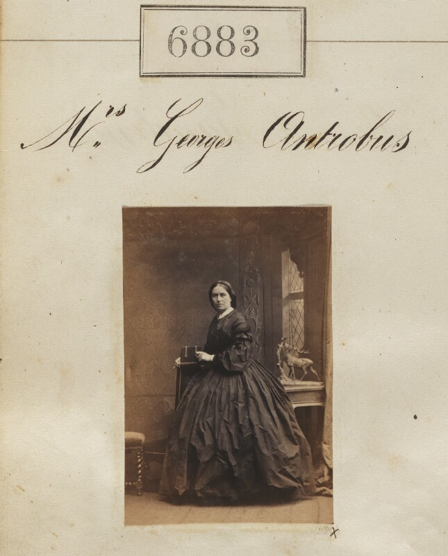 Henrietta Antrobus, by Camille Silvy, 30 January 1862 - NPG Ax56803 - © National Portrait Gallery, London