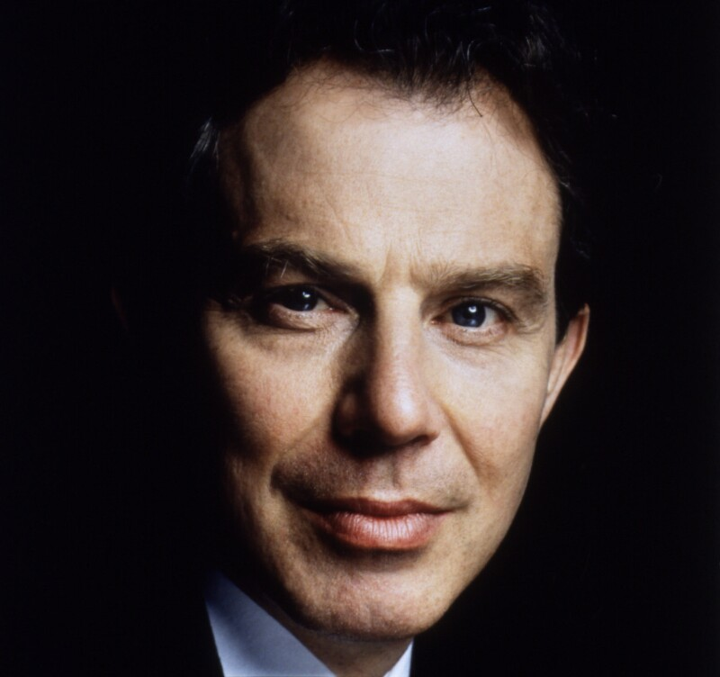 Tony Blair, by Terry O'Neill, May 1997 - NPG x88371 - © Iconic IMages/Terry O'Neill