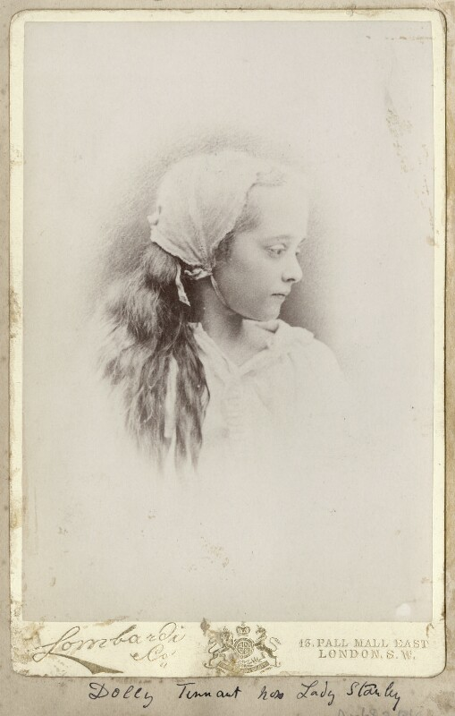 Dorothy (née Tennant), Lady Stanley, by Lombardi & Co, 1860s - NPG Ax68324 - © National Portrait Gallery, London