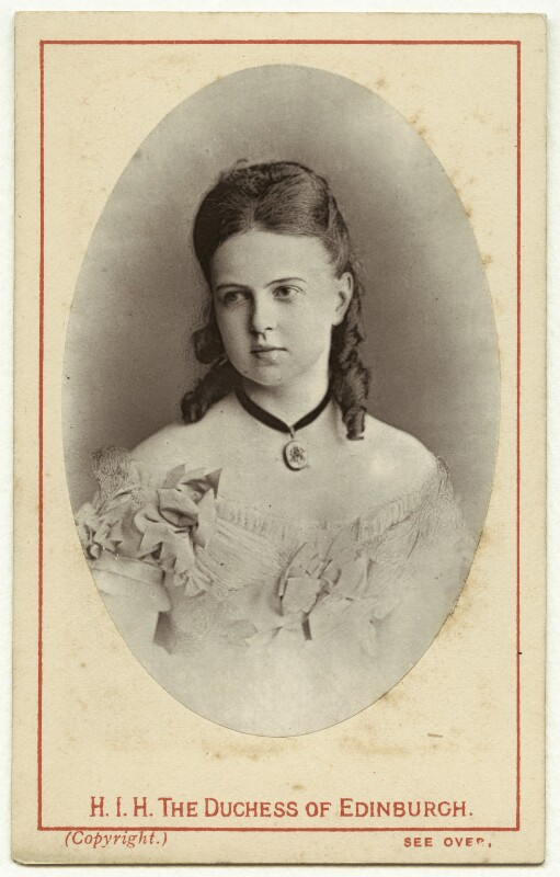 Marie Alexandrovna, Duchess of Edinburgh, published by E. Moses & Son, circa 1874 - NPG x29744 - © National Portrait Gallery, London