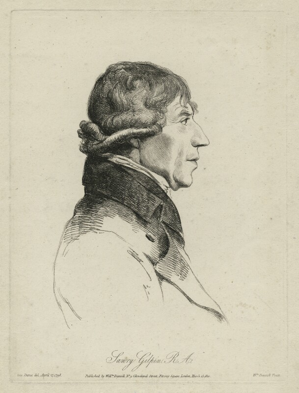 Sawrey Gilpin, by and published by William Daniell, after  George Dance, published 15 March 1810 (27 April 1798) - NPG D34507 - © National Portrait Gallery, London