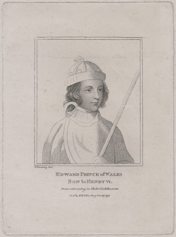 Edward, Prince of Wales, by Silvester Harding, published by  E. & S. Harding, after  Unknown artist, published 1793 - NPG D9390 - © National Portrait Gallery, London